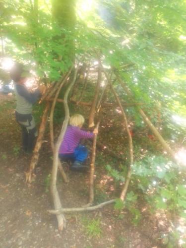 Wald Hütte